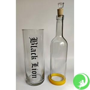 Мокрый водный бонг (стекло)